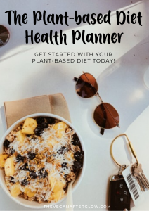 The Plant-based Diet Health Planner - The Vegan Afterglow