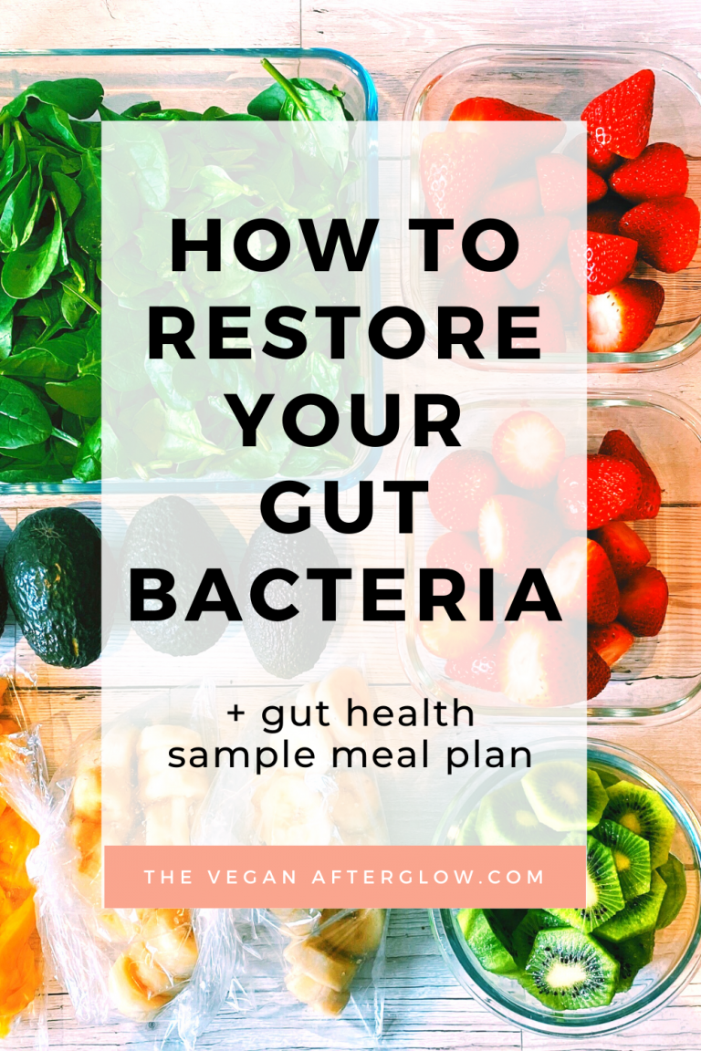 How to restore your gut bacteria
